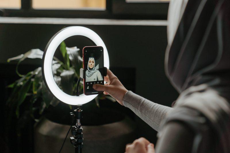 anillo de luz selfie