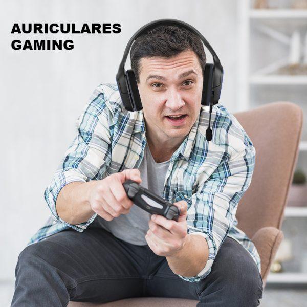 Cascos Gaming con Microfono