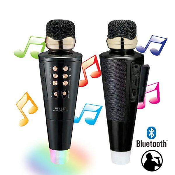 microfono altavoz karaoke