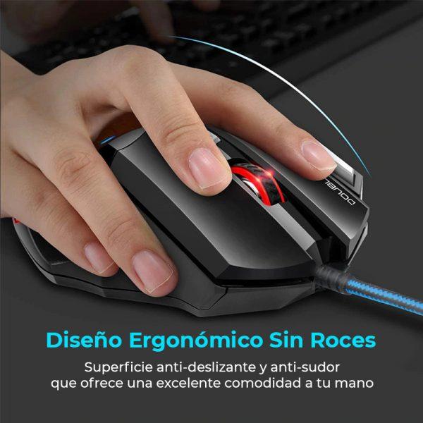 raton ergonomico