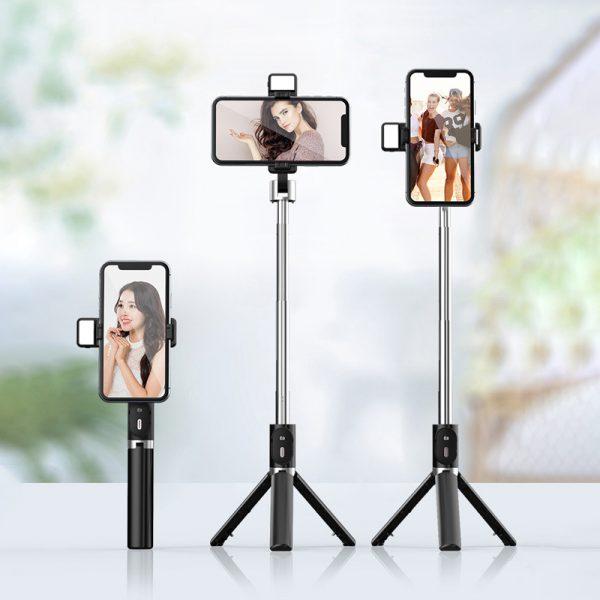 selfie stick led light
