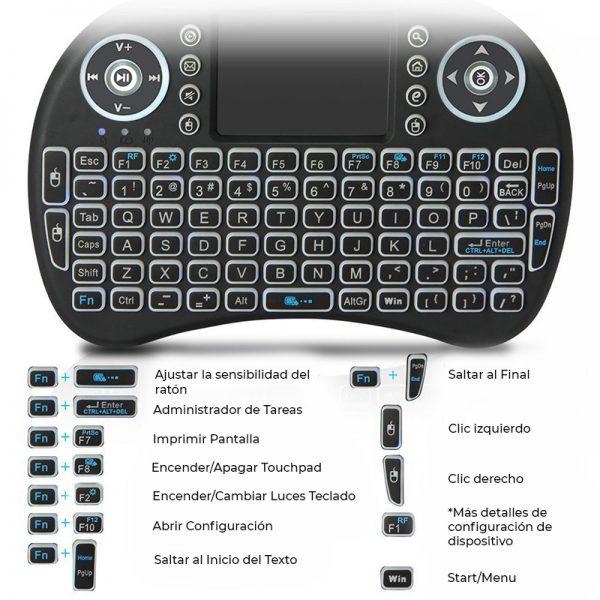 teclado playstation