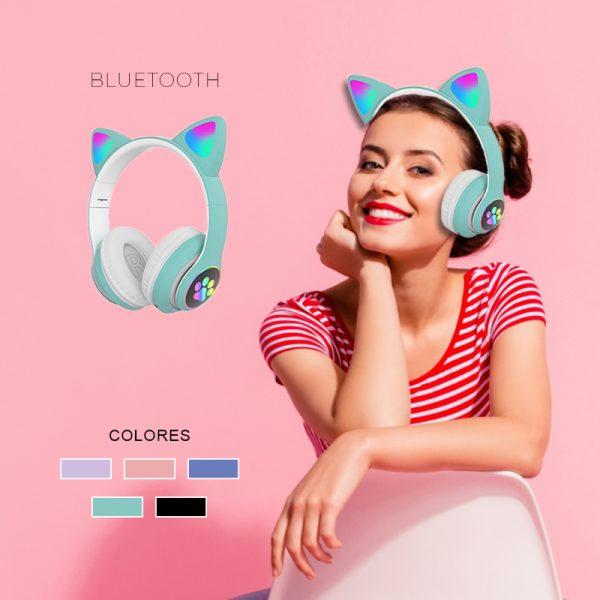 Auriculares Bluetooth Gato