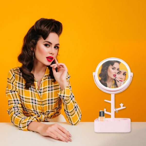 Espejo Maquillaje con Luz