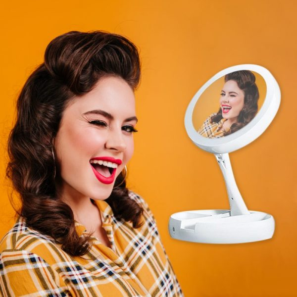 espejo plegable
