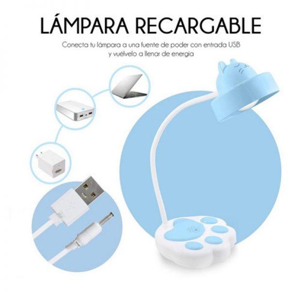 lampara recargable