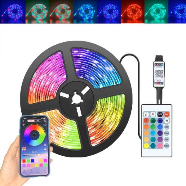 Tira de Luz LED/RGB Con APP Móvil
